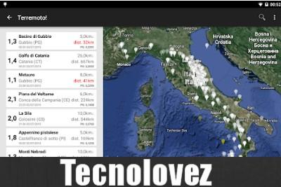 Terremoto! - Applicazione Per Il Monitoraggio Dei Terremoti In Tempo Reale