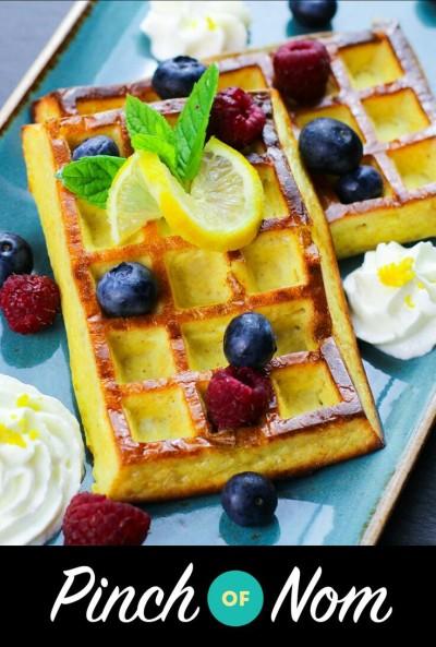 Resep waffle ini menggunakan pemanis alami non-gula.