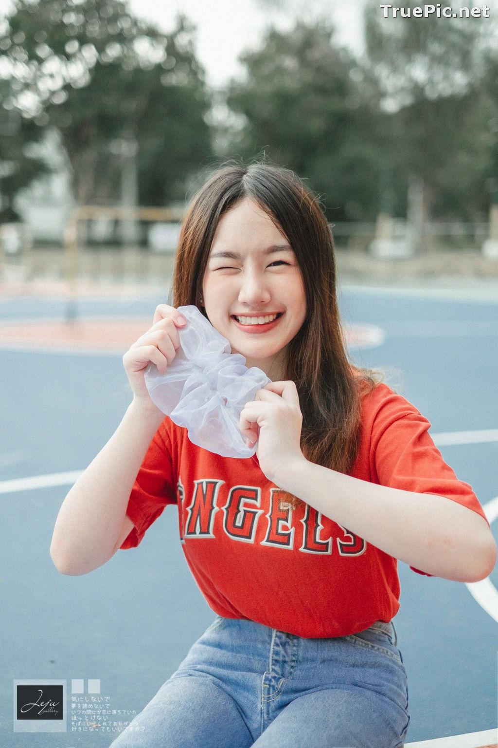 Image Thailand Cute Model - Fahfab Thunchanok - Red Angels - TruePic.net - Picture-10