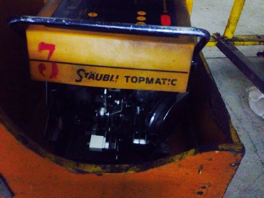 3 Staubli Topmatic Knotting Machine with Stand