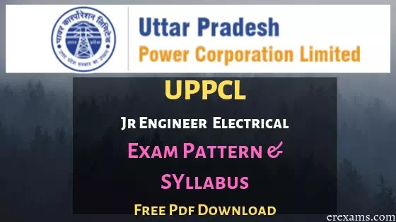 UPPCL JE Syllabus Electrical Engineering (EE) PDF Download