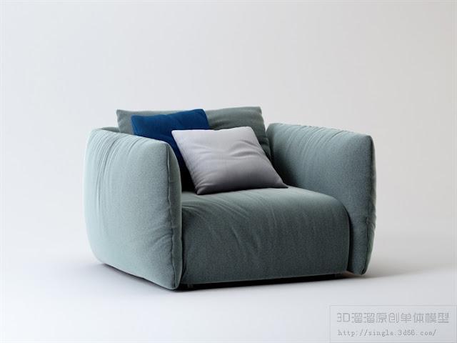 Sofa Collection Sketchup Model , sofa sketchup model