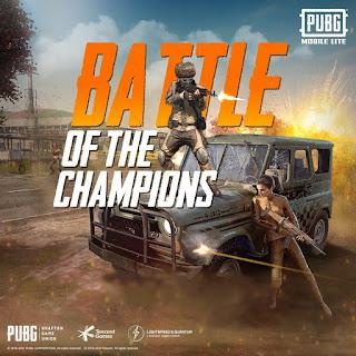 PUBG MOBILE LITE OFFICIAL TOURNAMENT BATTLE OF THE CHAMPION 2020