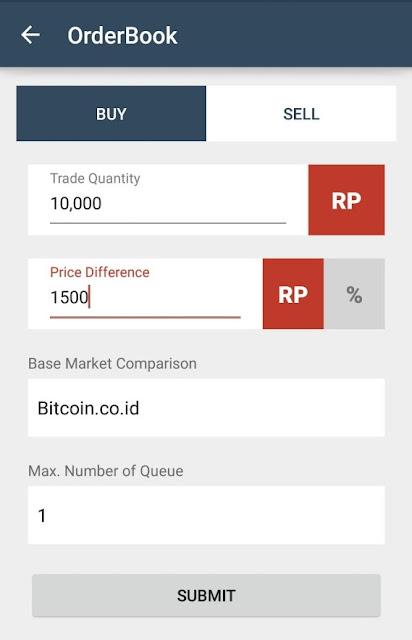 2 - Trading Otomatis di Vip Bitcoin Menggunakan Robot Trading BITBOT