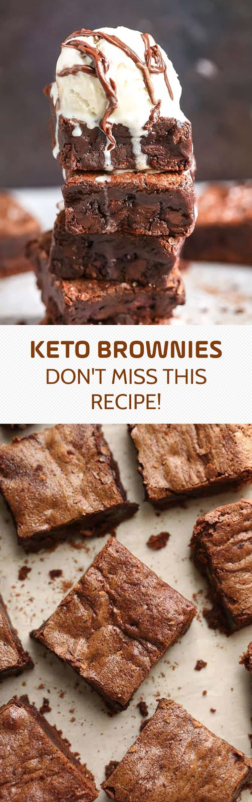 KETO BROWNIES - DON'T MISS THIS RECIPE