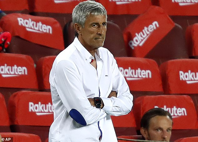 Setien admits he is unsure of whether he will be in charge for Napoli clash