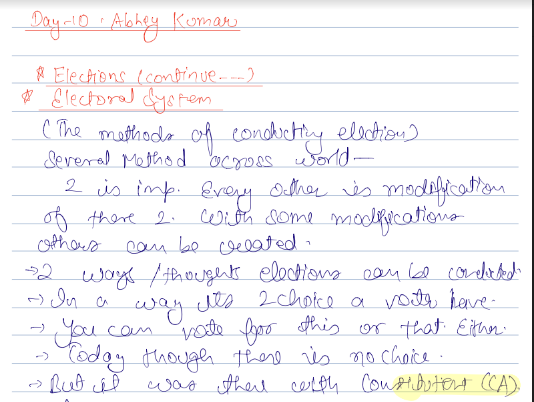 Vajiram and Ravi Complete Handwritten Class Notes PDF 2020
