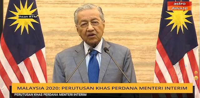 Mahathir Mohamad: Bila Diizinkan Saya Ingin Membentuk Pemerintahan Yang Tidak Berpihak Pada Partai Politik