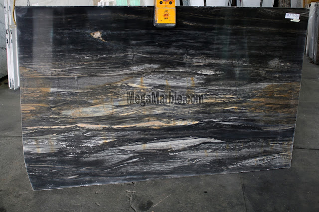 Black Matrix marble slabs for countertops