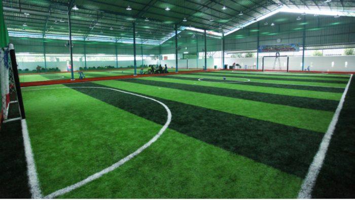 Harga Lapangan Futsal Rumput Sintetis Dan Vinyl