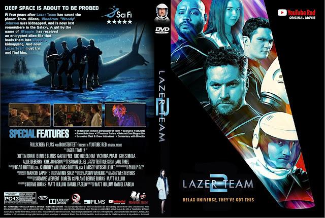 Lazer Team 2 DVD Cover