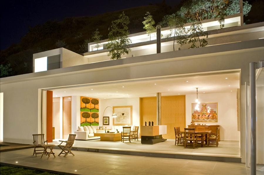 Podio Casa En La Monta 241 A Por Agraz Arquitectos