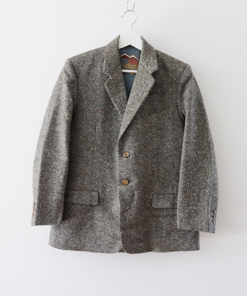 セットアップ ヴィンテージ ツイード スーツ 50年代 ジャパン ジャケット パンツ FUNS