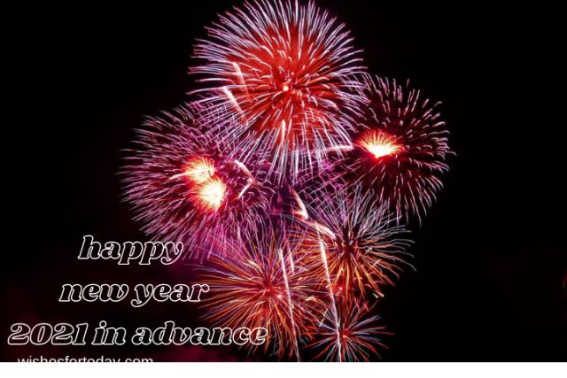 Happy new year 2021 in advance Images for download