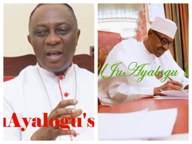Buhari must prove he's not protecting his corrupt friends – Catholic Archbishop Martins