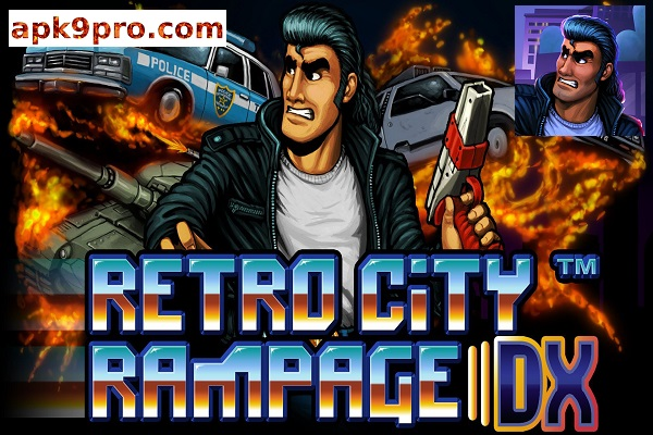 Retro City Rampage DX v1.0.7 Apk File size 16 MB for android