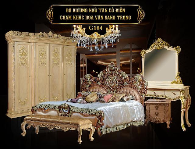Giường ngủ G104