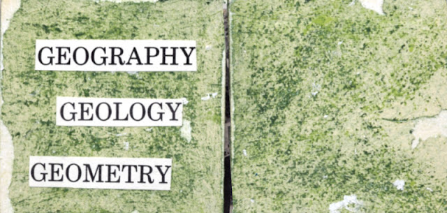 Artist book GEOGRAPHY GEOLOGY GEOMETRY