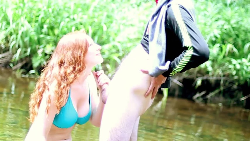 Blowjob 2012-06-29 - Adventure Calling - Outdoor Blowjob in a Rushing RiverReal Street Angels