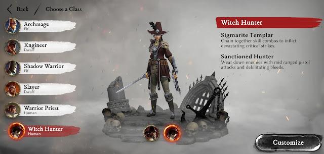 Warhammer odyssey witch hunter guide