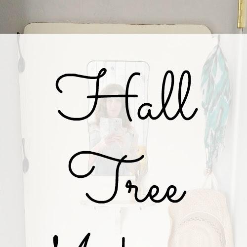 Hall Tree Makeover