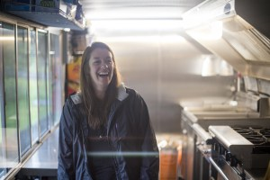 Amy Green, a culinary arts professor, says her students are especially interested in learning the ins and outs of food truck business. (Photo by Ted Kincaid / University of Alaska Anchorage)
