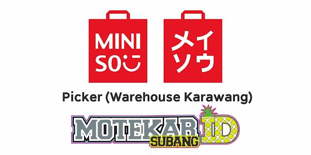 Info Lowongan Kerja Warehouse MINISO Maret 2021 - Motekar Subang