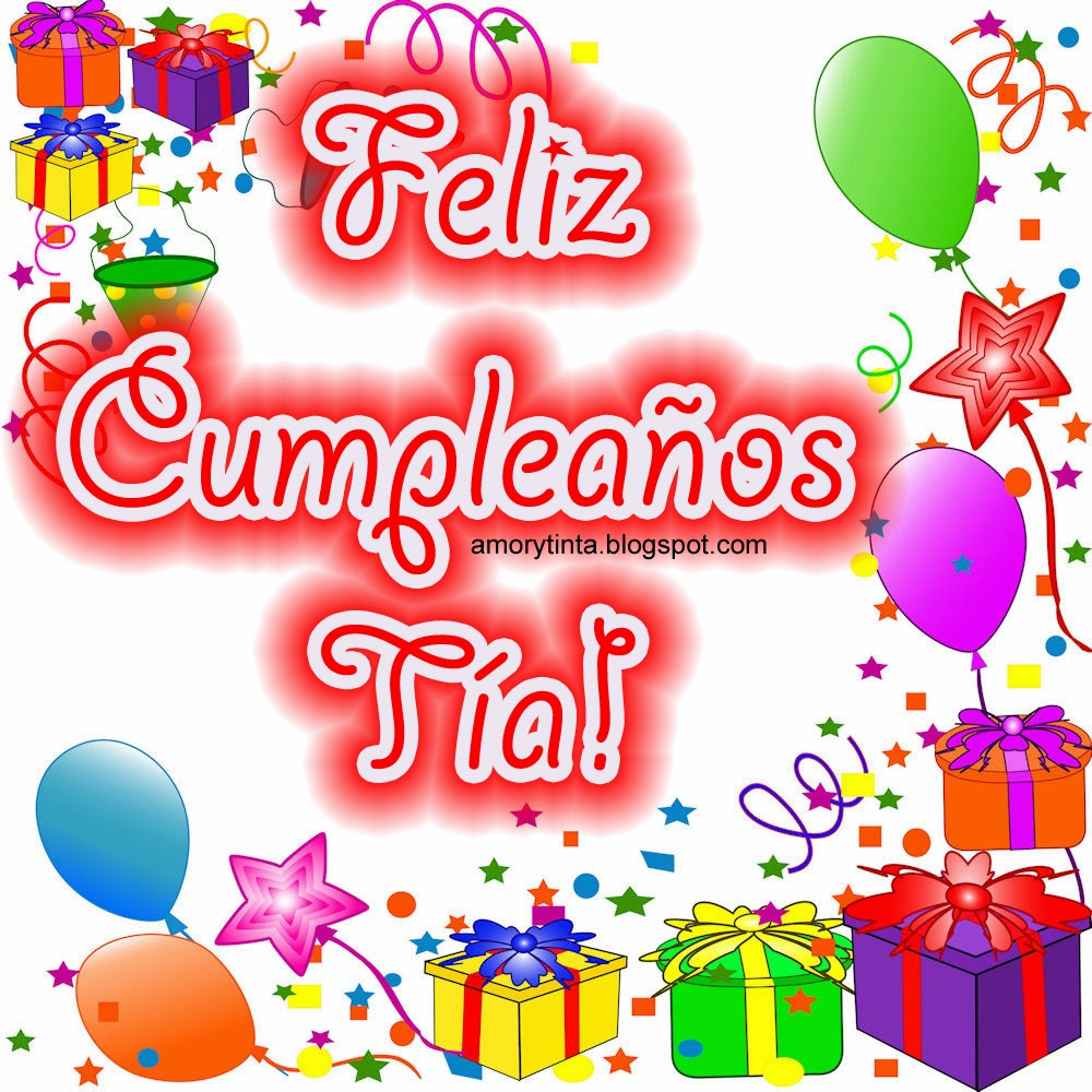 Feliz Cumpleaños Imagenes Tia