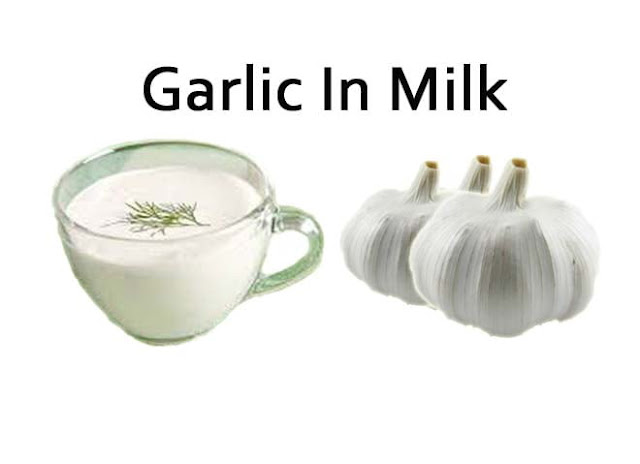 Garlic In Milk – Cures Asthma,Pneumonia,