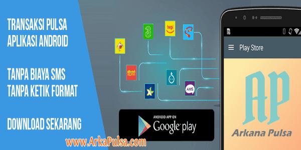 Link Download dan Cara Login Aplikasi Arkana Pulsa CV Sinar Surya Suryandaru Blora
