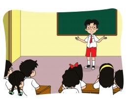 ilustrasi Tampil didepan kelas www.simplenews.me