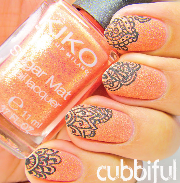 Kiko Sugar Mat No.639 Golden Mandarin