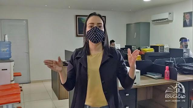 Secretária de Educação do Município de Bom Jardim - PE (Mirian Cavalcante)