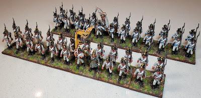 Perry Austrian Napoleonic Infantry