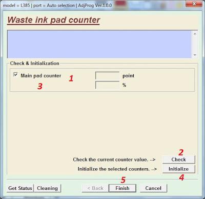 kami baru saja mengalami masalah pada printer Epson L Cara Reset Printer Epson L380 L383 L385 L485