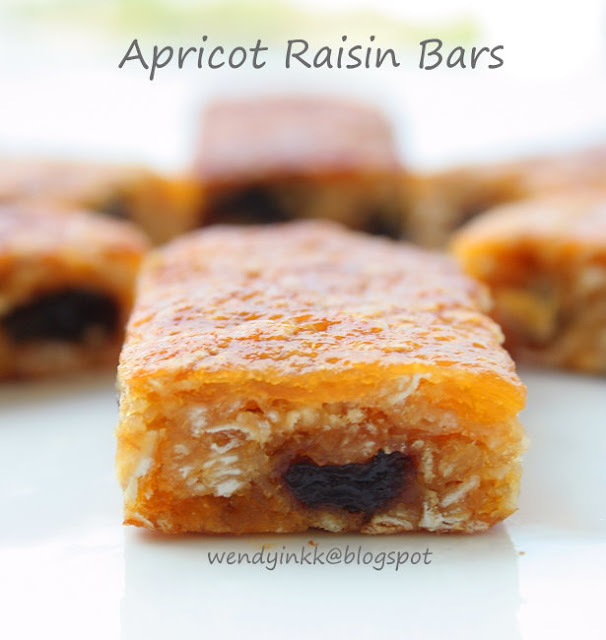 Apricot and Raisin Bars - Bars Week #1