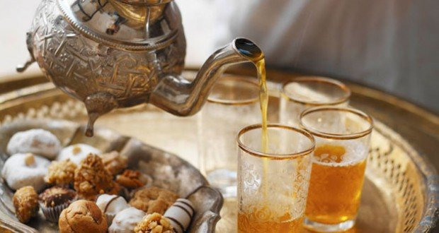 Method of action of Moroccan tea