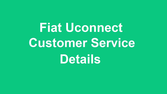 FIAT Uconnect Customer Service Number