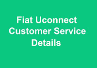 Uconnect Customer Service Number
