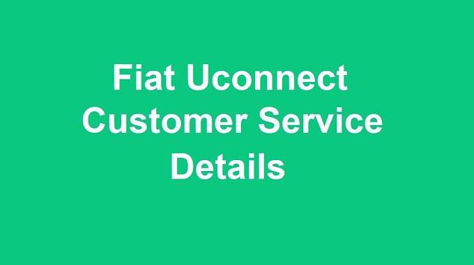 Uconnect Customer Service Number  | Uconnect Phone Number