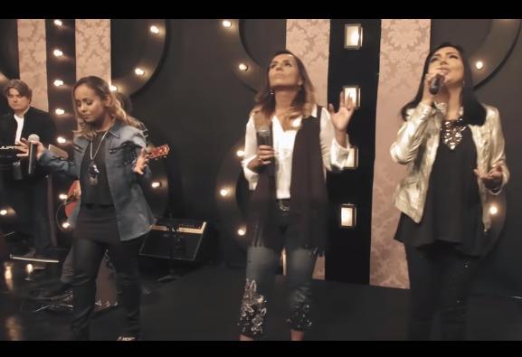 Clipe que reúne Eyshila, Bruna Karla e Liz Lanne supera 1 milhão de visualizações