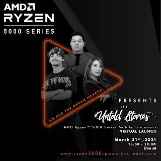AMD Ryzen 5000 Series: Processor Mobile Terbaik yang Baru Saja Resmi Diluncurkan di Indonesia