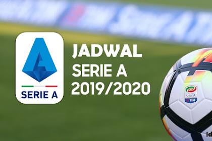 Jadwal Siaran Langsung Liga Italia 2019/2020