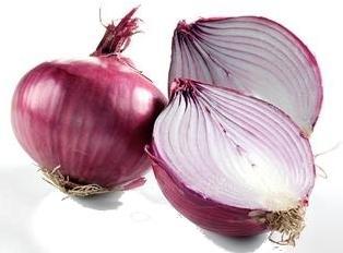 Foto de cebollas frescas