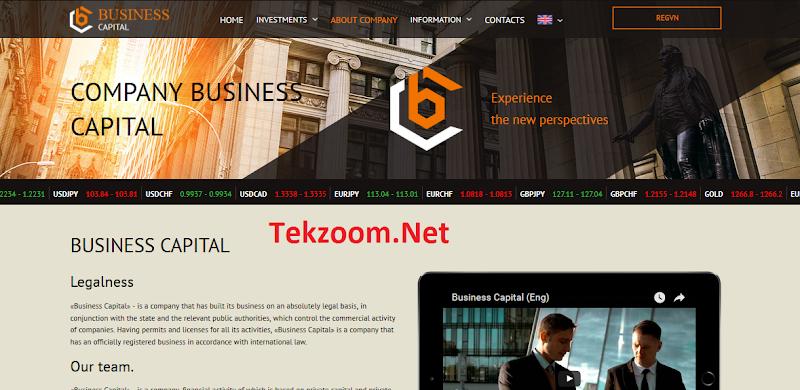 [SCAM] Review Business-Capital - Một site đầu tư uy tín từ Nga - Lãi 2% - 5% hằng ngày - Đầu tư tối thiểu 20$ - Hoàn vốn đầu tư