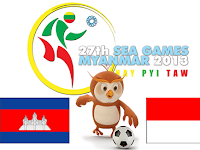 Kamboja U23 vs Indonesia U23 SEA Games 2013