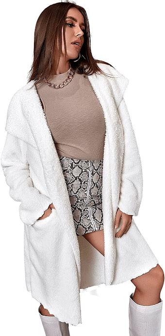 Elegant Women's Faux Fur Coats Jackets