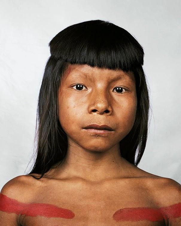 16 Children & Their Bedrooms From Around the World - Ahkohxet, 8, Amazonia, Brazil