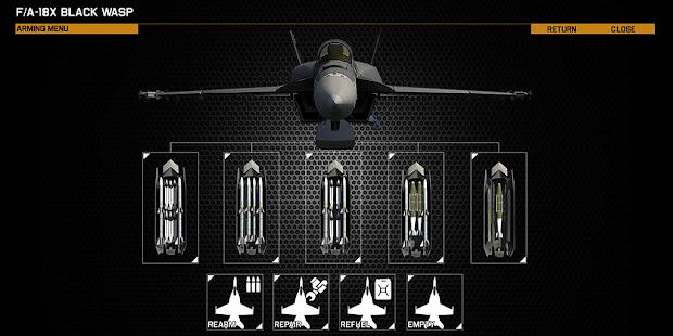 F/A-18を近未来化させたarma3用のF/A-18X Black Wasp アドオン