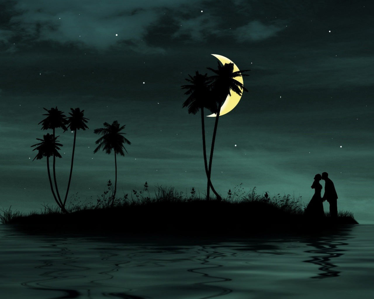 Wallpaper S For Mobile And Pc Moon Night In Romantic -9402